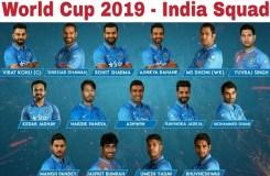 वर्ल्ड कप के लिए टीम इंडिया का एलान, जाने किसे मिला मौका