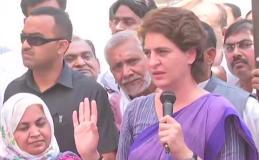 अमेठी में ग्राम प्रधानों को 20-20 हजार रु की रिश्वत दे रही बीजेपी -प्रियंका