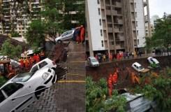 महाराष्ट्रः : दीवार गिरने से चार बच्चों समेत 15 लोगों की मौत, बचाव कार्य जारी