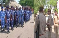 अलीगढ़ मर्डर : आक्रोशित हुई भीड़, समुदाय विशेष के लोगों का पलायन, भारी पुलिस बल तैनात