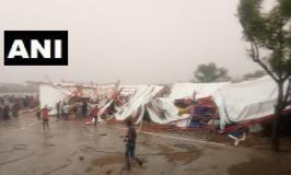 बाड़मेर में पांडाल गिरने से 14 लोगों की मौत, 24 घायल