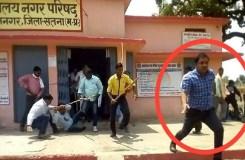 MP : भाजपा नेता ने सीएमओ को लाठी-डंडों से पीटकर किया लहूलुहान