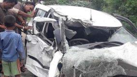उन्नाव रेप केस: एक्सीडेंट में पीड़िता गंभीर घायल ,दो की  मौत, भाजपा विधायक लगे आरोप