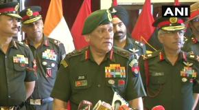 500 आतंकवादी जम्मू-कश्मीर में घुसपैठ की फिराक में – सेना प्रमुख