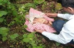 खंडवा : झाड़ियों में नवजात बच्ची को फेंका, हालत नाजुक