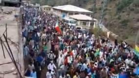 आर्टिकल-370 हटाने के विरोध में PoK में हजारों लोगों ने LoC की  ओर निकला मार्च