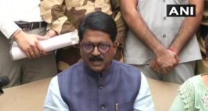 मोदी कैबिनेट में भारी उद्योग मंत्री शिवसेना सांसद अरविंद सांवत ने दिया इस्तीफा, लगाया ये आरोप
