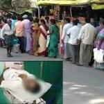 आंध्र प्रदेश : प्याज खरीदने के लिए लाइन में खड़े किसान की मौत