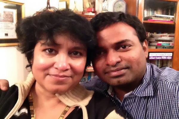 taslima nasreen boyfriend
