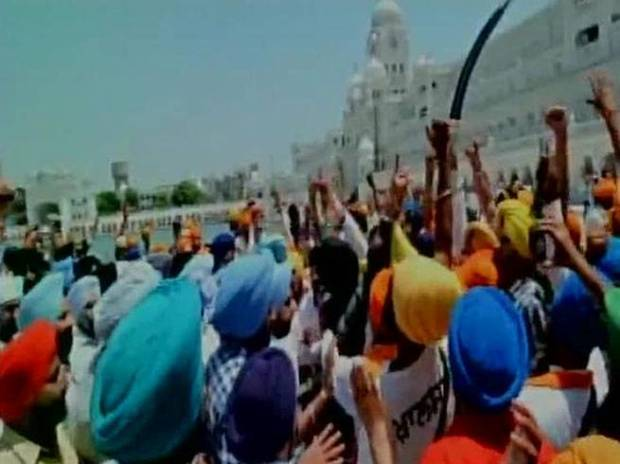 Operation Blue Star, Khalistan