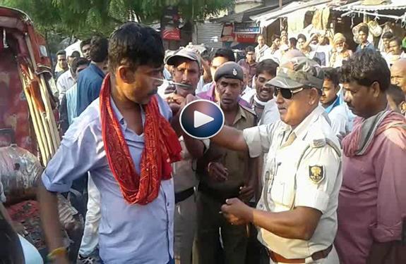 Drunk-constable Hungama-in-Bihar