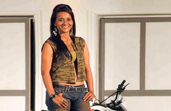 Stunt Woman- Geeta Tandon