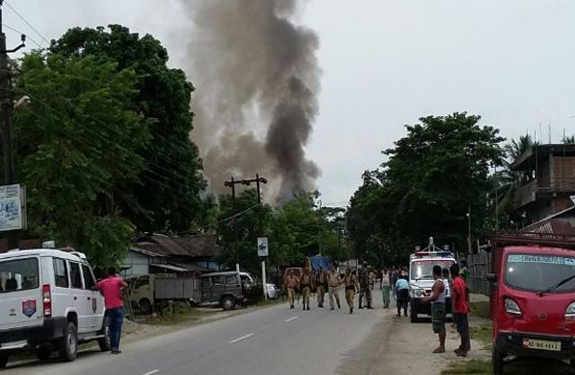 Assam's Kokrajhar terrorists open fire in market