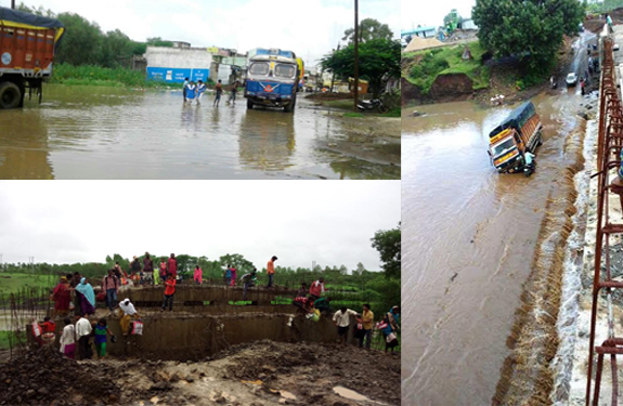 Dindori Heavy Monsoon rains in Madhya Pradesh