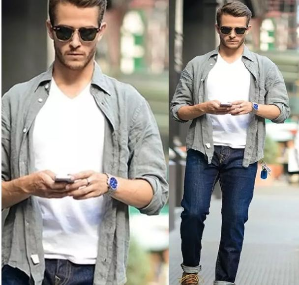 This-type-of-shirt-worn-over-a-T-shirt-to-look-stylish-see-pictures