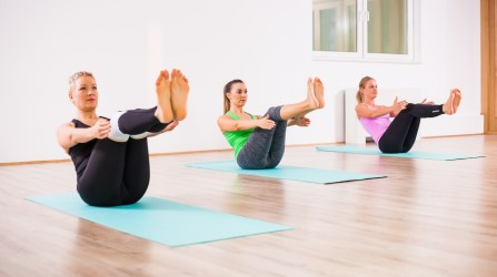 pilates yoga zen