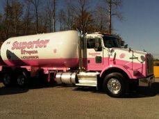 2010 pink superior propane