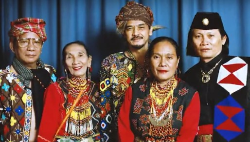 Present day Ainu people of Japan