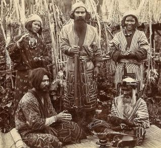 Ainu people of the past