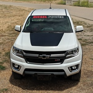 Colorado Hood Decal – fits 2015-2019 Chevrolet Colorado