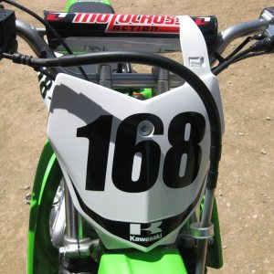 Number Decal Many Sizes / Colors Dirt Bike, Race Car, BMX Racing