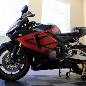 Full Wing Graphics Kit – fits the 2005-2006 Honda CBR600RR 600RR