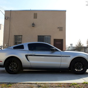 Side Stripes fits 2010-2013 Ford Mustang – Many Colors and Logos
