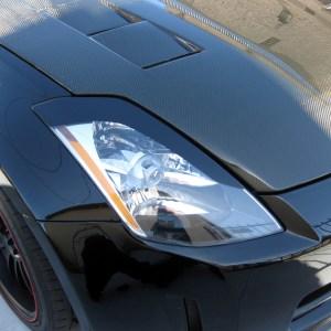Headlight Eyelids – fits 2003-2008 Nissan 350Z 350 Z