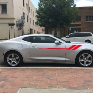 Side Stripes for the 2017-2018 Chevrolet Camaro Chevy RS SS ALL