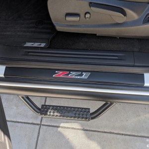 Colorado Door Sill Overlays 2015-2020 Chevrolet Colorado