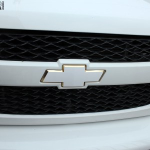 Solid Color Front Chevy Emblem Decal for Chevrolet Trucks