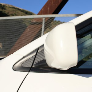 Carbon Fiber Mirror Trim Overlays- 2003-2006 Mitsubishi EVO 8 / 9
