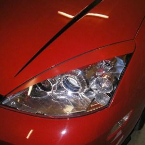 Headlight Eyelids fits 2000-2004 Ford Focus SE SVT ZX3 ZX5 All