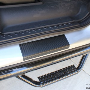 Ford F-150 Door Sill Overlays – 2009-2014 Ford F-150 Super Crew