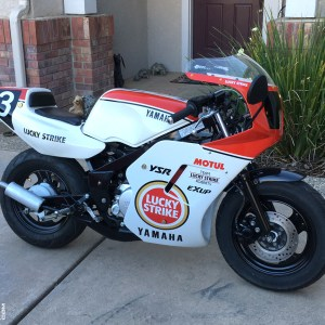 Lucky Strike Graphics Kit 1987-1992 Yamaha YSR50 YSR 50 80