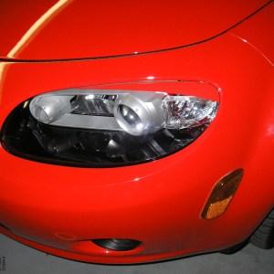 Headlight Eyelids fits 2006-2011 Mazda Miata MX-5 06-11