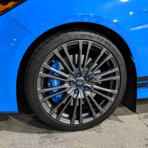 Wheel Logo Inlay Decals for the 2016-2018 Focus RS – Qty 6
