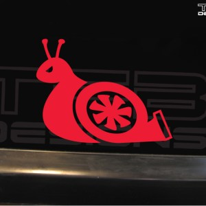 Turbo Snail Decal – Several Sizes – JDM Decal Vinyl Sticker