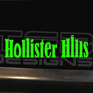 Hollister Hills SVRA Decal – Many Sizes / Colors – Vinyl Sticker