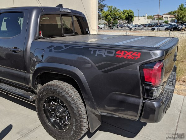 Toyota Tacoma bed graphics