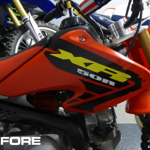 2002-2003 Honda XR50 Graphics OEM Replacement Decals XR50R