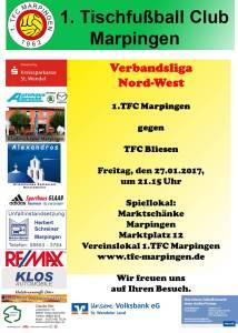 Verbandsliga Nord-West:  TFC Marpingen - TFC Bliesen