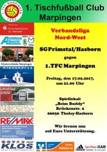 SG Primstal/Hasborn - 1.TFC Marpingen
