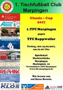 Classic-Cup 2017:  1.TFC Marpingen  -  TFC Rappweiler