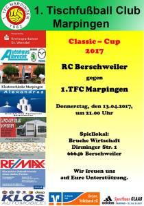 Classic-Cup 2017: RC Berschweiler - TFC Marpingen