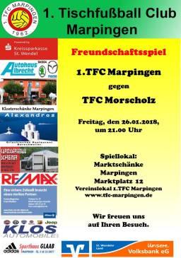 Freundschaftsspiel zuhause gegen TFC Morscholz
