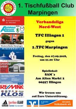 Verbandsliga Nord-West: TFC Illingen1 - 1.TFC Marpingen @ SAM´s   Illingen   Saarland   Deutschland