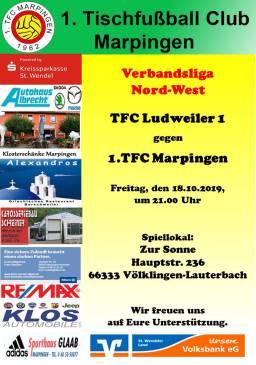 VL NW: TFC Ludweiler 1 - 1.TFC Marpingen @ Zur Sonne