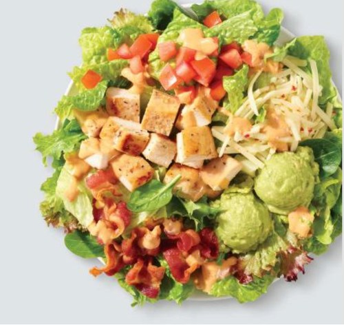 avocado chicken salad low-carb fast foods
