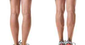 Exercise secondary muscles of the legs